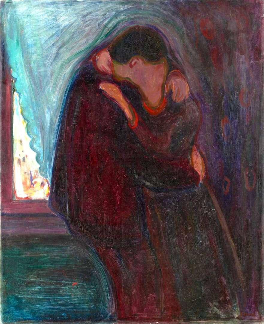 Le Baiser - Edvard Munch