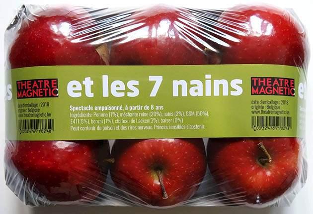 pommes et les 7 nains