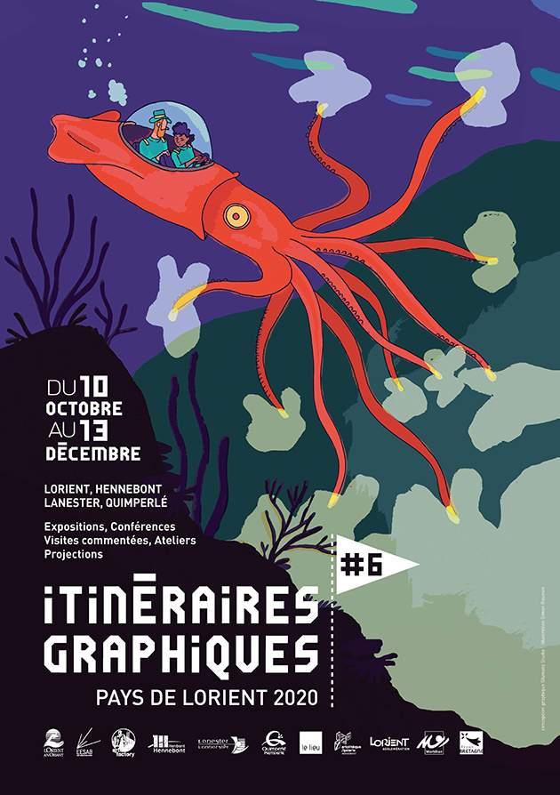 itineraires graphiques Lorient