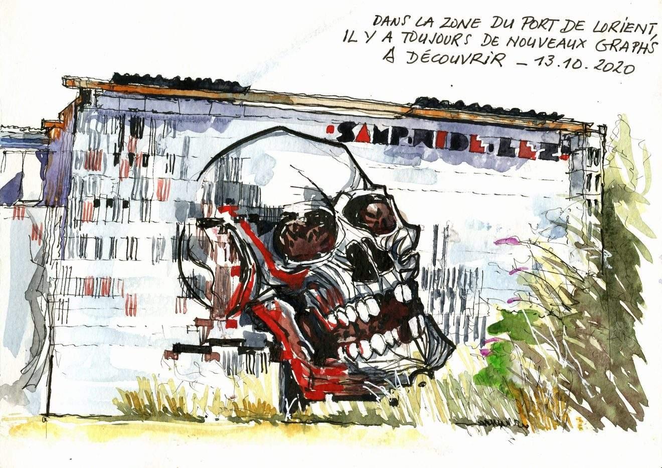 dARRIS Lorient - Graph dans le port - 13 10 2020